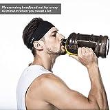 poshei Mens Headband, Mens Sweatband & Sports