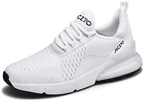 LFLDZ - Zapatillas de Running para Hombre MS Road, par de Zapatillas para Entrenar Personalidad, Transpirables, Resistentes al Desgaste, para Atletismo, Correr, Fitness, Blanco, 45: Amazon.es: Hogar