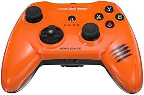 Mad Catz C.T.R.L.i Mobile Gamepad Made for Apple iPod, iPhone, and iPad Acirc; nbsp;   Orange