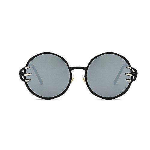 hombres Decoración UV sol Gafas redondo Frame gafas retro conducir Style lente de sol sol Metal Wolves Garra de Unisex Retro mujeres Protección para de Punk y Cool de Gris Gafas esqu para PC Gafas Viajar p0wx1qIwP