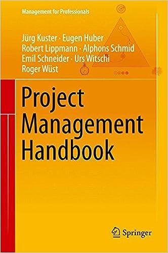 Project Management Handbook (Management for Professionals)
