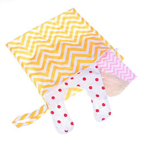 2 Pack Wet Wipe Pouch + 1 Pack Diaper Bag, Travel Wipes Holder Case Reusable Refillable Wet Wipe Bag Travel Wipes Dispenser Portable Baby Wet Wipe Pouches by Haodeba (Image #6)