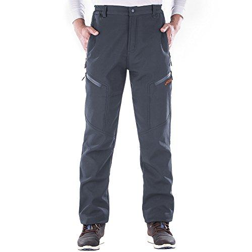 Unitop Men's Winter Warmth Water-Resistant Snow Pants