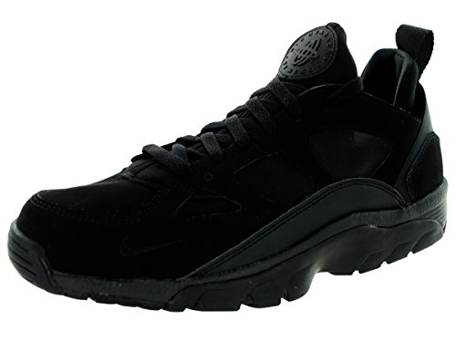 Nike Air Trainer Huarache Faible Mens Noir / Noir