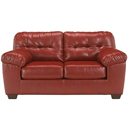 Genial Ashley Furniture Signature Design   Alliston Contemporary Loveseat   Salsa