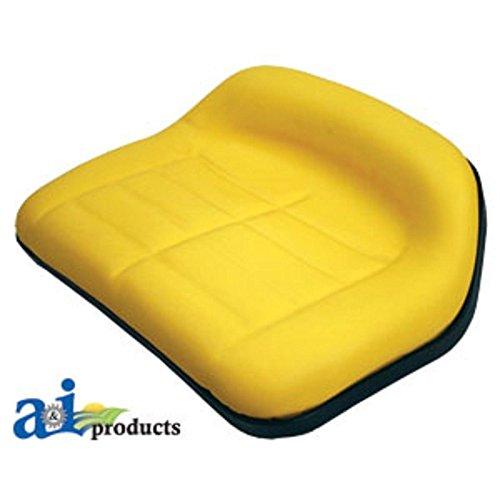 TY15862 Seat Low Back Yellow Fits John Deere:F510,F525,RX63,RX73,RX75,RX95,SX75,