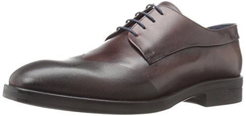 Kenneth Cole New York Men's Catch Phrase Oxford, Brown, 1...