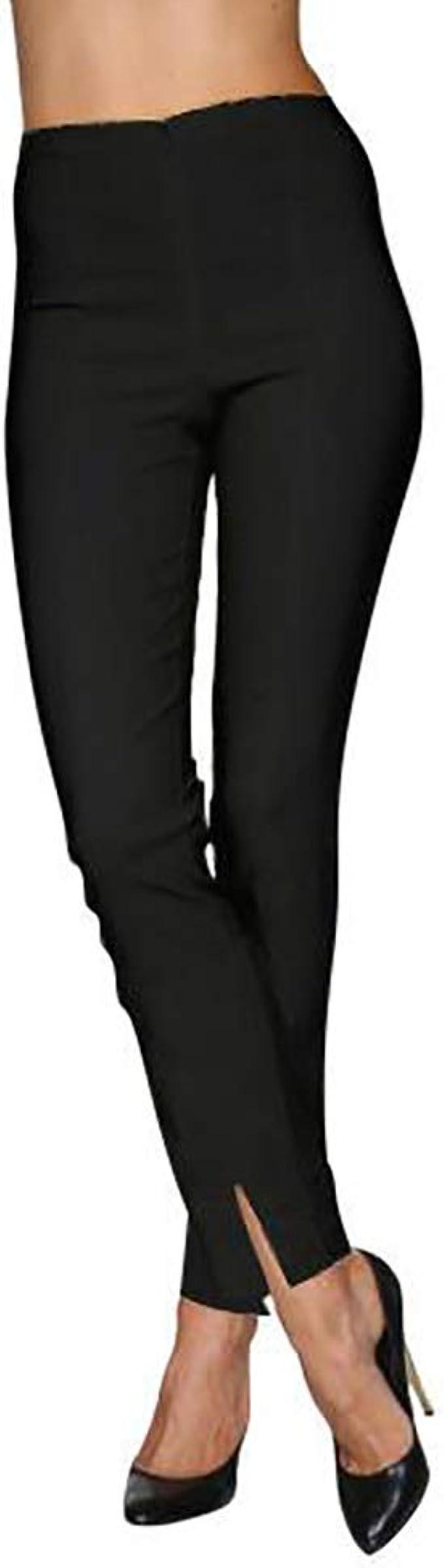 Amazon.com: Pantalones Mesmerize con aberturas frontales en ...