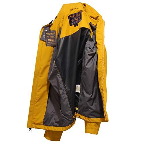 4148x Uomo Giallo Giubbotto Wind Pacific Men Yellow Stopper Jacket Senape Woolrich Pwqdg4q