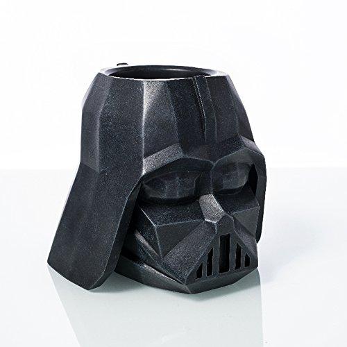 YOURNELO Creative Star Wars Character Pen Pencil Holder Desk Organizer Flowerpot (Knight Black) -