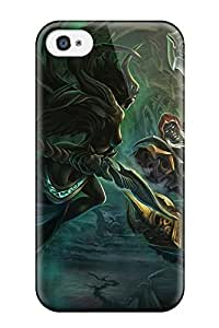 Anti-scratch And Shatterproof Darksiders Phone Case For Iphone 4/4s/ High Quality Tpu Case