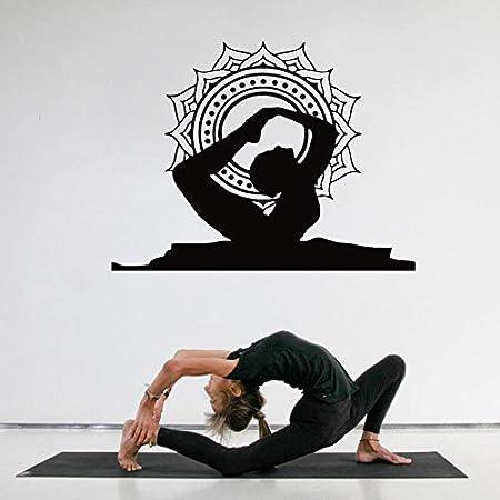 haotong11 Decoración para el hogar Creativo Pose de Arco de Yoga ...