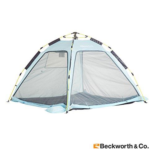 Beckworth & Co. QuickFlex Multipurpose Beach Cover and Outdoor Tent - Light Blue