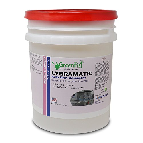 Commercial Industrial Grade Dishwasher Detergent 5 Gallon...
