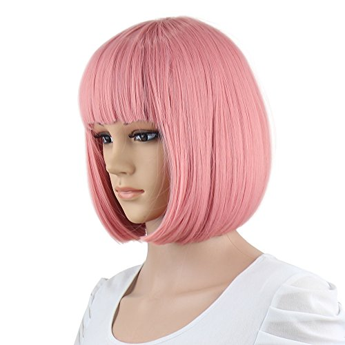 Beautiful Baby Pink Wig