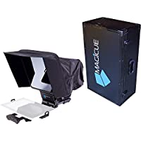 Magicue Stage Master Mobile Teleprompter Kit with Hard Case, Black (MAQMOBKIT)