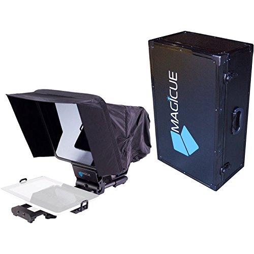 magicueステージマスターモバイルTeleprompterキットwithハードケース,ブラック(maqmobkit)   B01N9RENT0