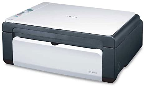 Ricoh Aficio SP 100SUe - Impresora multifunción láser Monocromo(B/N 13 PPM), Blanco y Negro