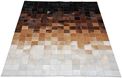Premiumcowhide New Cowhide Rug Leather. Animal Skin Patchwork Area Carpet 8 X 10