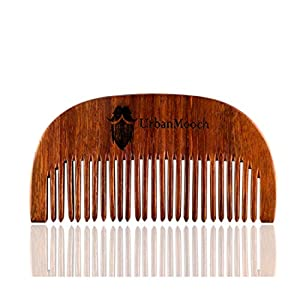 UrbanMooch Pure Sheesham Wood Beard Comb For Healthy & Stylish Beard