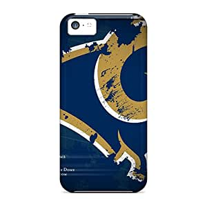 LavernaCooney Iphone 5c Scratch Resistant Hard Phone Covers Custom High-definition St. Louis Rams Image [sAu10228BeIN]