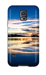 Faddish Phone Private Dock Sunset Case For Galaxy S5 / Perfect Case Cover