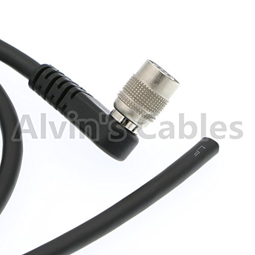 Trigger Strobe PWS Cable for TIS GigE Camera Hirose Right Angle 6 pin to Open end Cable for Basler
