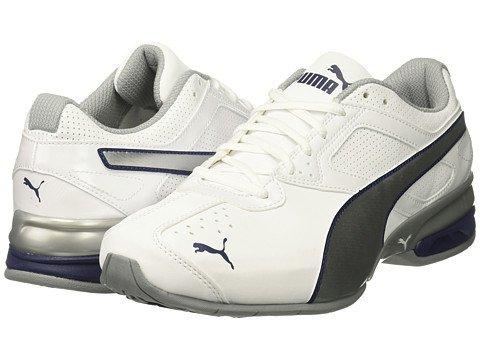 (プーマ) PUMA メンズランニングシューズスニーカー靴 Tazon 6 FM [並行輸入品] B074DT7FK4 25.5 cm D - M Puma White/Puma Silver/Blue Depths