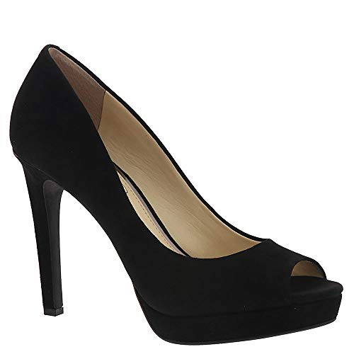 Jessica Simpson Women's Dalyn, (Black 001), 7.5 Medium US - Jessica Simpson Peep Toe Shoes