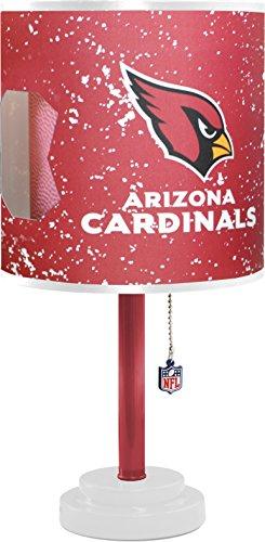 Desk Cardinal Lamp - Idea Nuova NFL Arizona Cardinals Table Lamp with Die Cut Lamp Shade