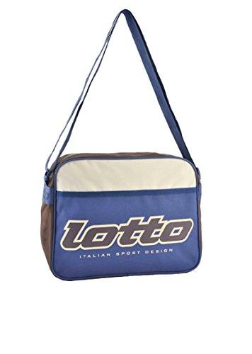 Lotto - Bolso al hombro para hombre Blue/bianca