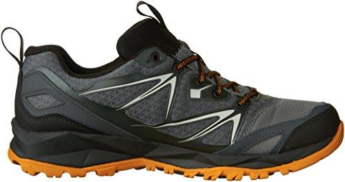 Merrell Men's Capra Bolt Waterproof Hiking Shoe, Grey/Orange, 9.5 M US by Merrell (Image #7)