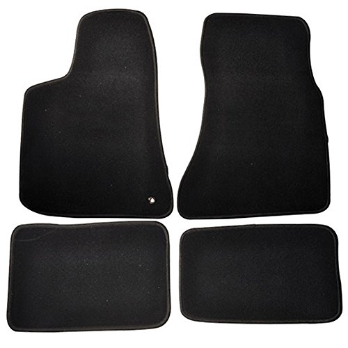 Floor Mats Fits 2005-2010 Dodge Charger | 4Dr Factory Fitment Car Floor Mats Front & Rear Nylon by IKON MOTORSPORTS | 2006 2007 2008 2009