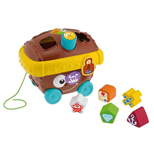 Chicco Pirate Chest Shape Sorter by CHICCO (ARTSANA SpA)