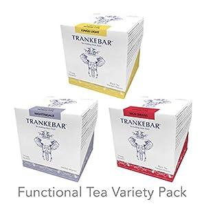 Trankebar Functional Herbal Tea Variety Pack (Kings Light, Wild Swans, and Nightingale 3 pack of 15 Tea Bags) Premium Specialty Tea Made With Quality Ingredients 1
