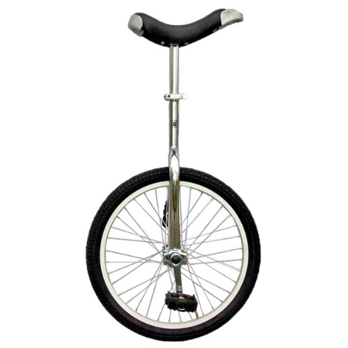 "Fun Chrome 20"" Unicycle with Alloy Rim"