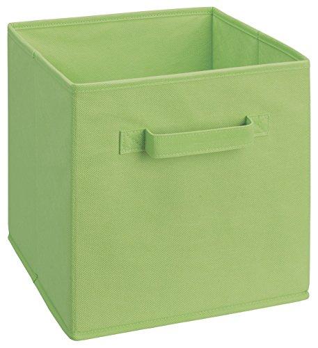Closetmaid 5434 Cubeicals Fabric Drawer, Green