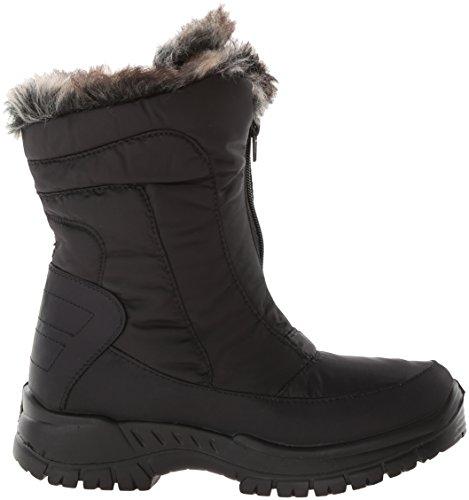 Women's Boot Zigzag Snow Black Step Spring PUqAw5U