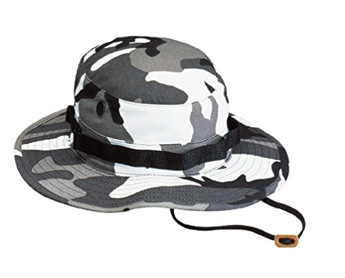 City Camouflage Boonie Hats Military Camo Army Hat Fishing Hiking Hunting Caps