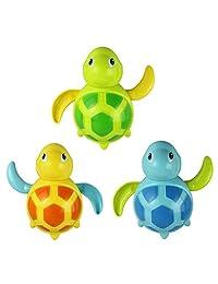 Coromose New born swim turtle wound-up chain bath toy classic toys