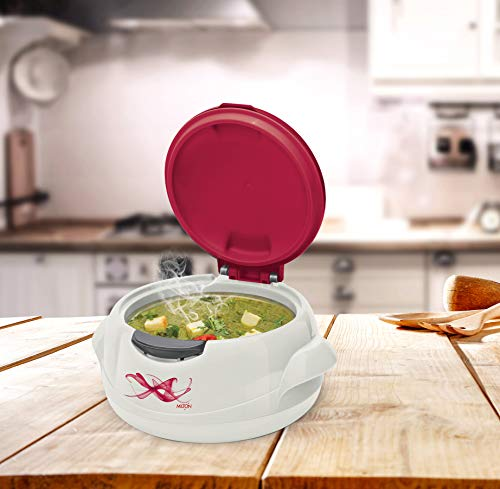 Milton Microwow One Touch Casserole, 1000 Ml, Red