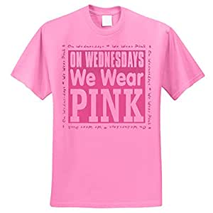 Amazon.com: On Wednesdays We Wear Pink T-Shirt: Sports & Outdoors