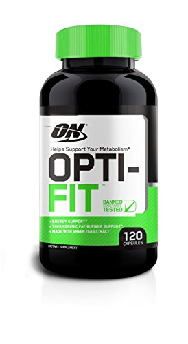 Optimum Nutrition Opti-fit Thermogenic Metabolism Support, 120 Count