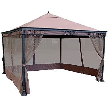 JRA 12 x 12 Gazebo Replacement Canopy  sc 1 st  Amazon.com & Amazon.com : 12 x 12 Scalloped Gazebo Replacement Canopy - RipLock ...