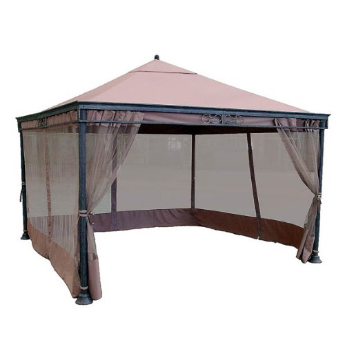 Jra 12 x 12 gazebo replacement canopy gazebos patio for Outdoor furniture gazebo