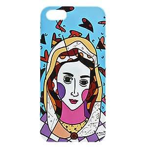 CL - Caso duro del diseño de la mujer de la historieta para el iphone 5/5s