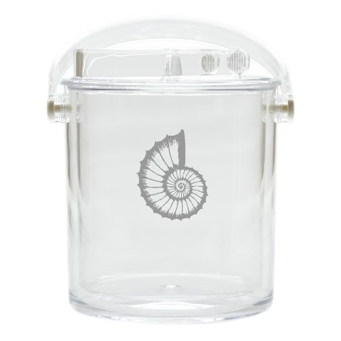 Carved Solutions Acrylic Insulated Ice Bucket With Tongs -Spiral