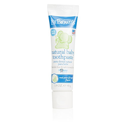 - Dr. Brown's Natural Baby Toothpaste, 1.4 Ounce