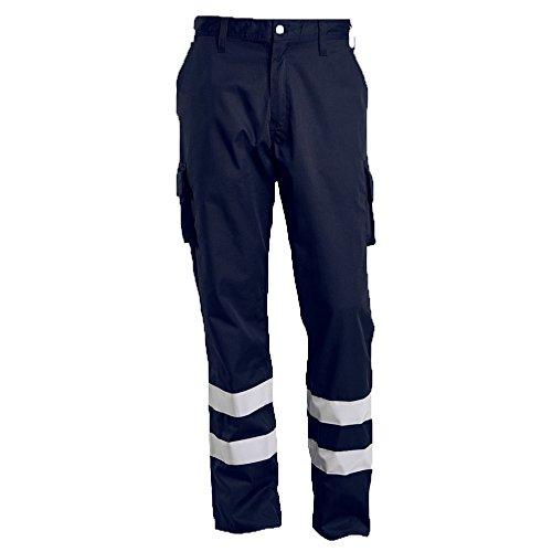 Mascot 17979-850-010-82C46 Service Trousers Safety Pants, Black/Blue, 82C46