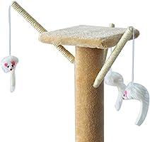 PawHut Árbol para Gatos Rascador Grande con Nidos Plataformas ...